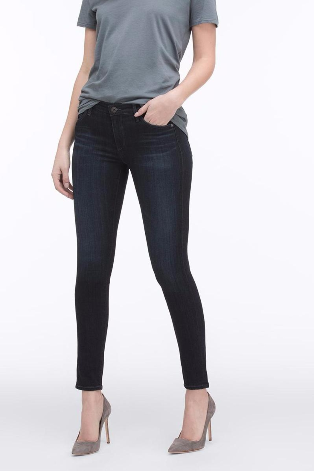 AG Jeans Legging Ankle Jean - Front Cropped Image