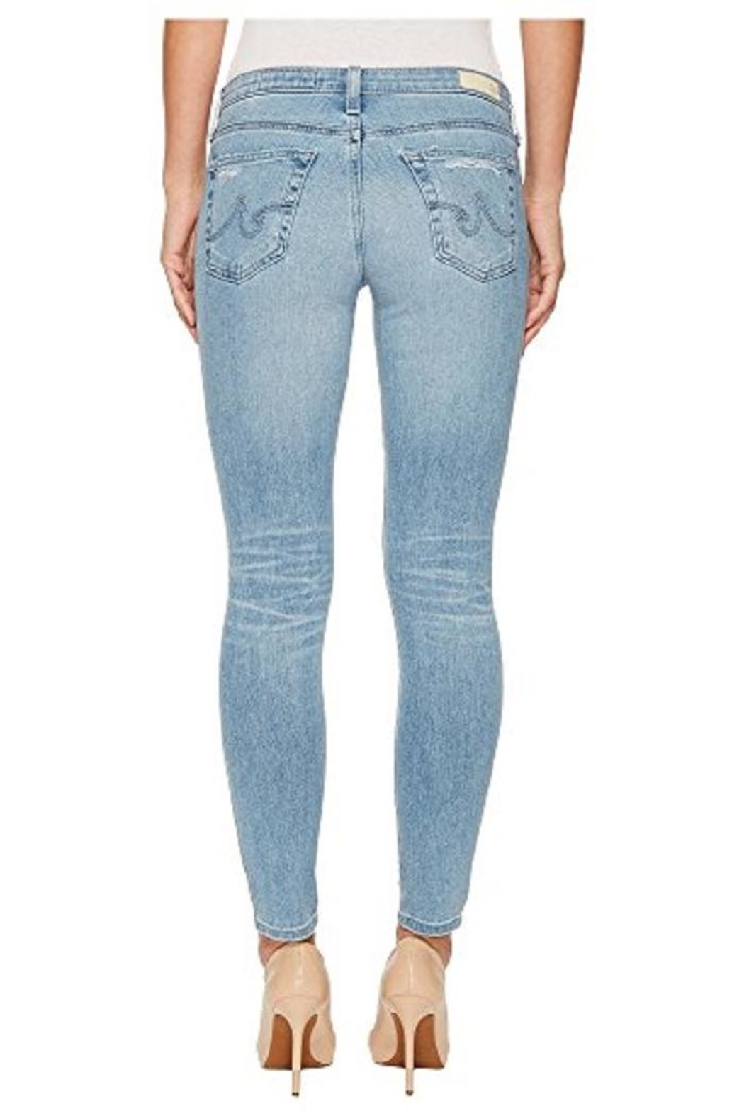 AG Jeans Lowrise Skinny Jean - Front Full Image