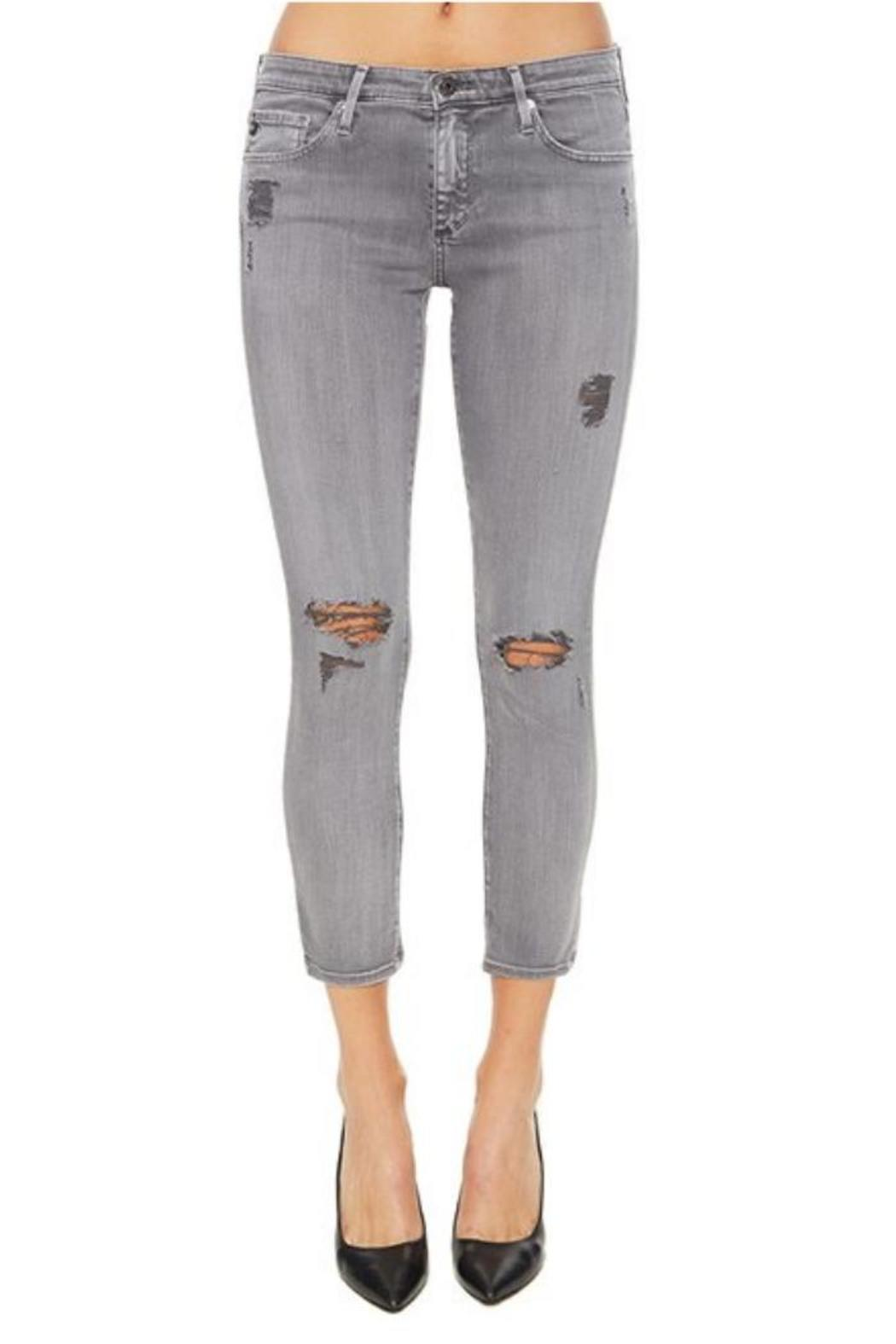 AG Jeans Stilt Crop Sun-Faded - Main Image