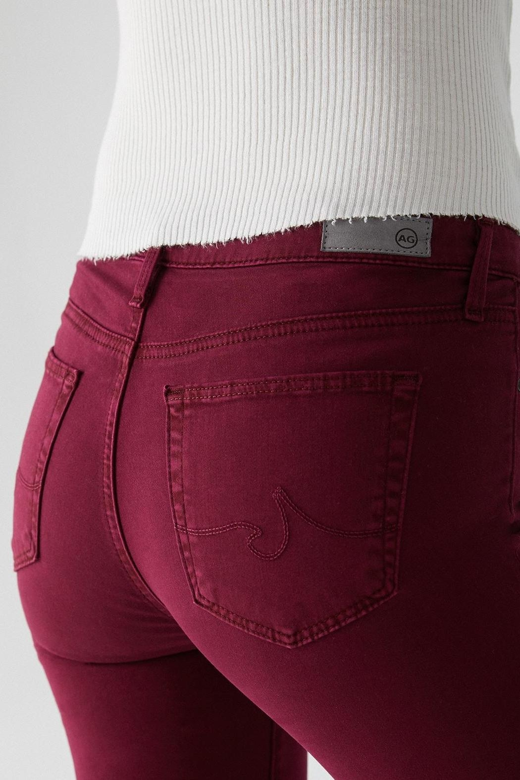 AG Jeans The Prima - Back Cropped Image