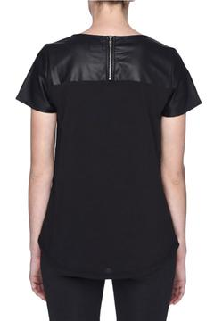 Shoptiques Product: Vegan Leather Tee