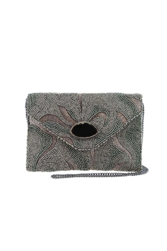 Shoptiques Product: Agate Beaded Clutch