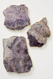 Anthropologie Agate Cheeseboard in Purple - Front cropped