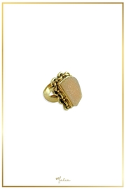 Malia Jewelry Agate Druzy Ring - Product Mini Image