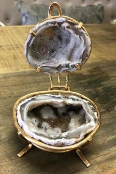 Rock Paradise Agate-Geode Ring Box - Product List Image