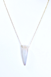 The Birds Nest AGATE NECKLACE - 8.5 INCH CHAIN - Product Mini Image