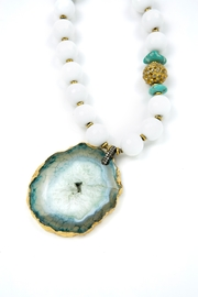 Carol Penn Agate Pendant Necklace - Product Mini Image