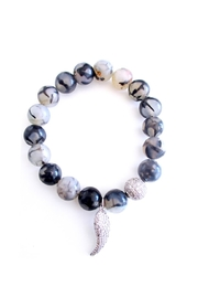 Malia Jewelry Agate Wing Bracelet - Product Mini Image