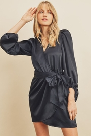 dress forum Agatha Pleated Shoulder Wrap Dress - Front cropped
