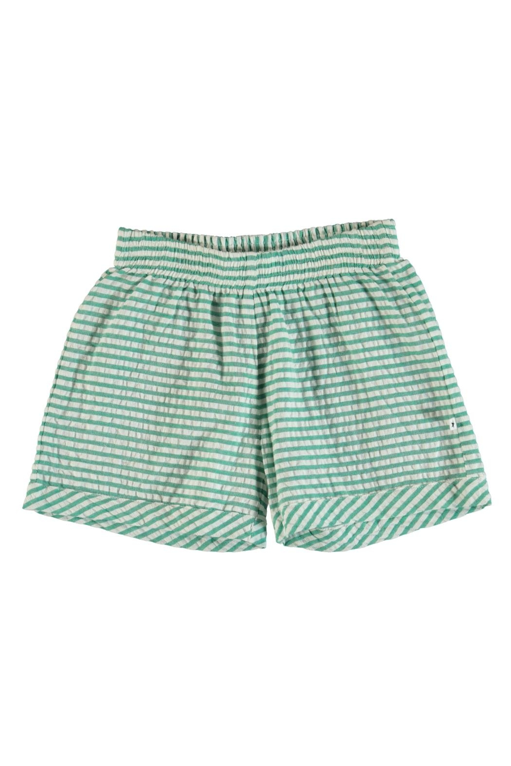 Molo Agatha Stripe Shorts - Front Cropped Image