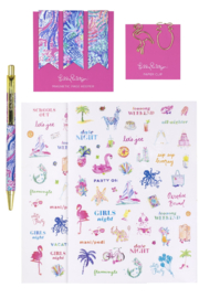 Lilly Pulitzer  Agenda Bonus Pack - Beach Haven - Product Mini Image
