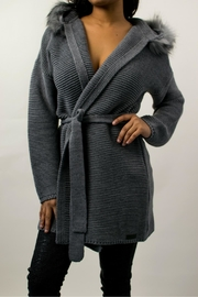 Aggel Cardigan Grey - Product Mini Image