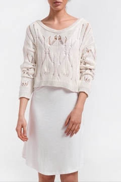 Aggel Crop Knit Sweater - Product List Image