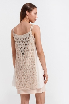 Aggel Knitted Fabric Tank - Alternate List Image