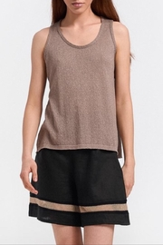Aggel Lurex Knit Tank - Product Mini Image