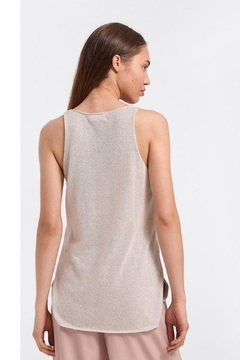 Aggel Lurex V-Neck Tank - Alternate List Image