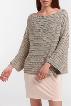Aggel Melangie Wide-Sleeve Sweater - Product List Image