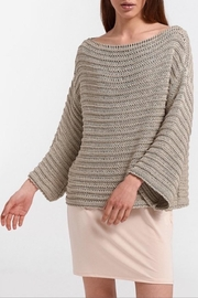 Aggel Melangie Wide-Sleeve Sweater - Product Mini Image