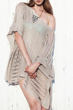 Shoptiques Product: Poncho With Holes Dress