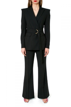 Shoptiques Product: Blazer Marina Neutral Black