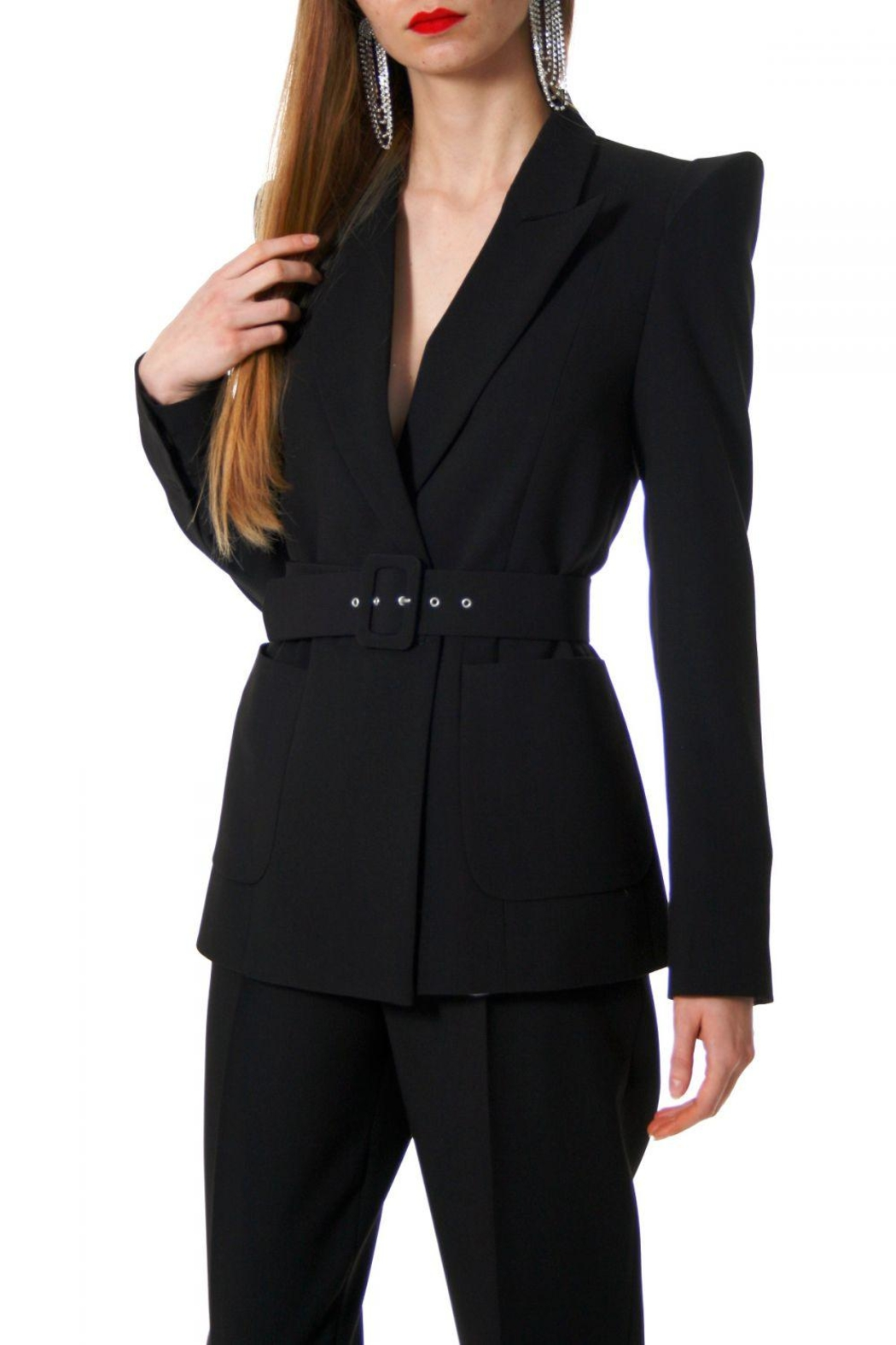 AGGI Blazer Samantha Total Eclipse - Front Cropped Image