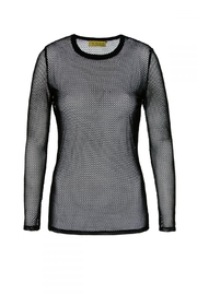AGGI Blouse Brittany Black Shadow - Front full body