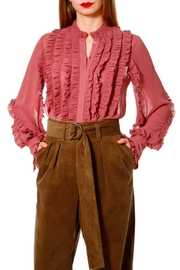 AGGI Blouse Marley Old Rose - Front cropped