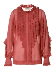 AGGI Blouse Marley Old Rose - Front full body