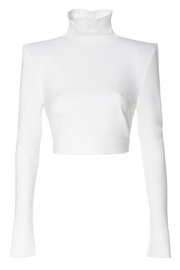 AGGI Blouse Natasha Ecru White - Front full body