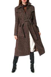 AGGI Coat Meryl Brunette - Side cropped
