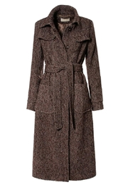 AGGI Coat Meryl Brunette - Front full body