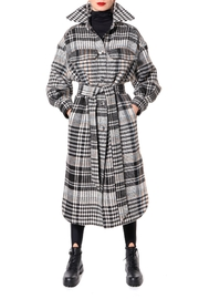 AGGI Coat Mila Winter Sky - Product Mini Image