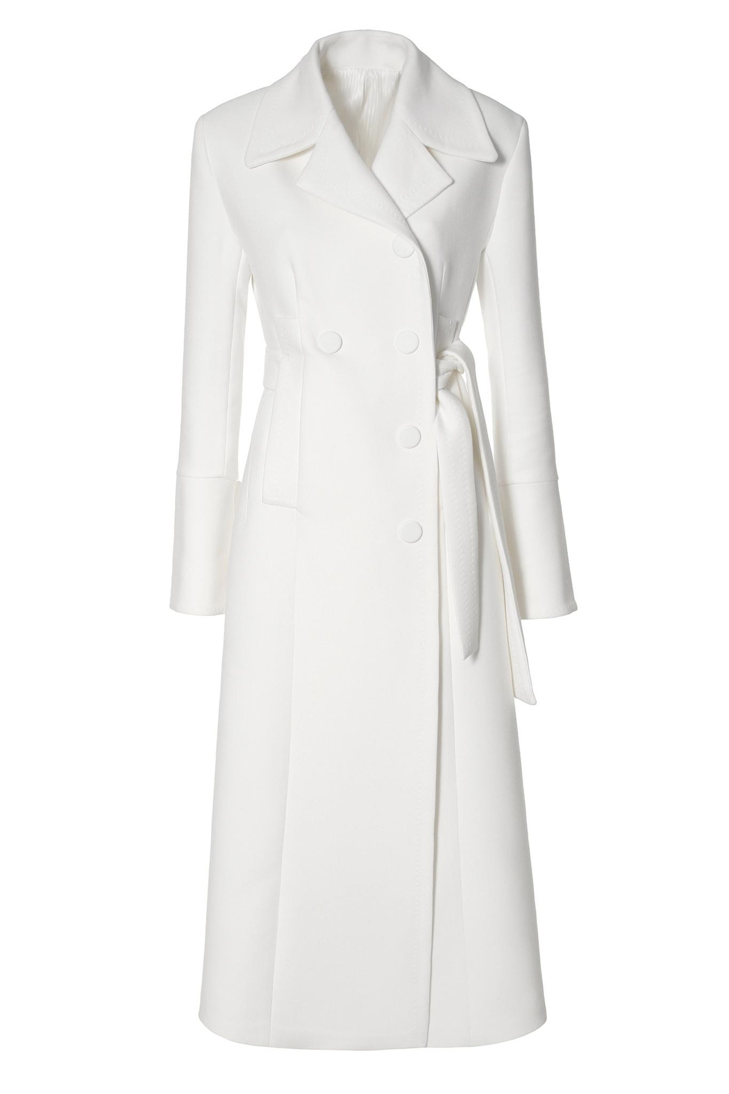 AGGI Coat Tilda Off-White - Front Full Image