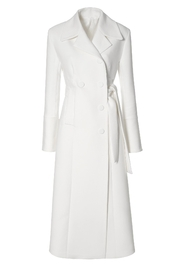 AGGI Coat Tilda Off-White - Front full body