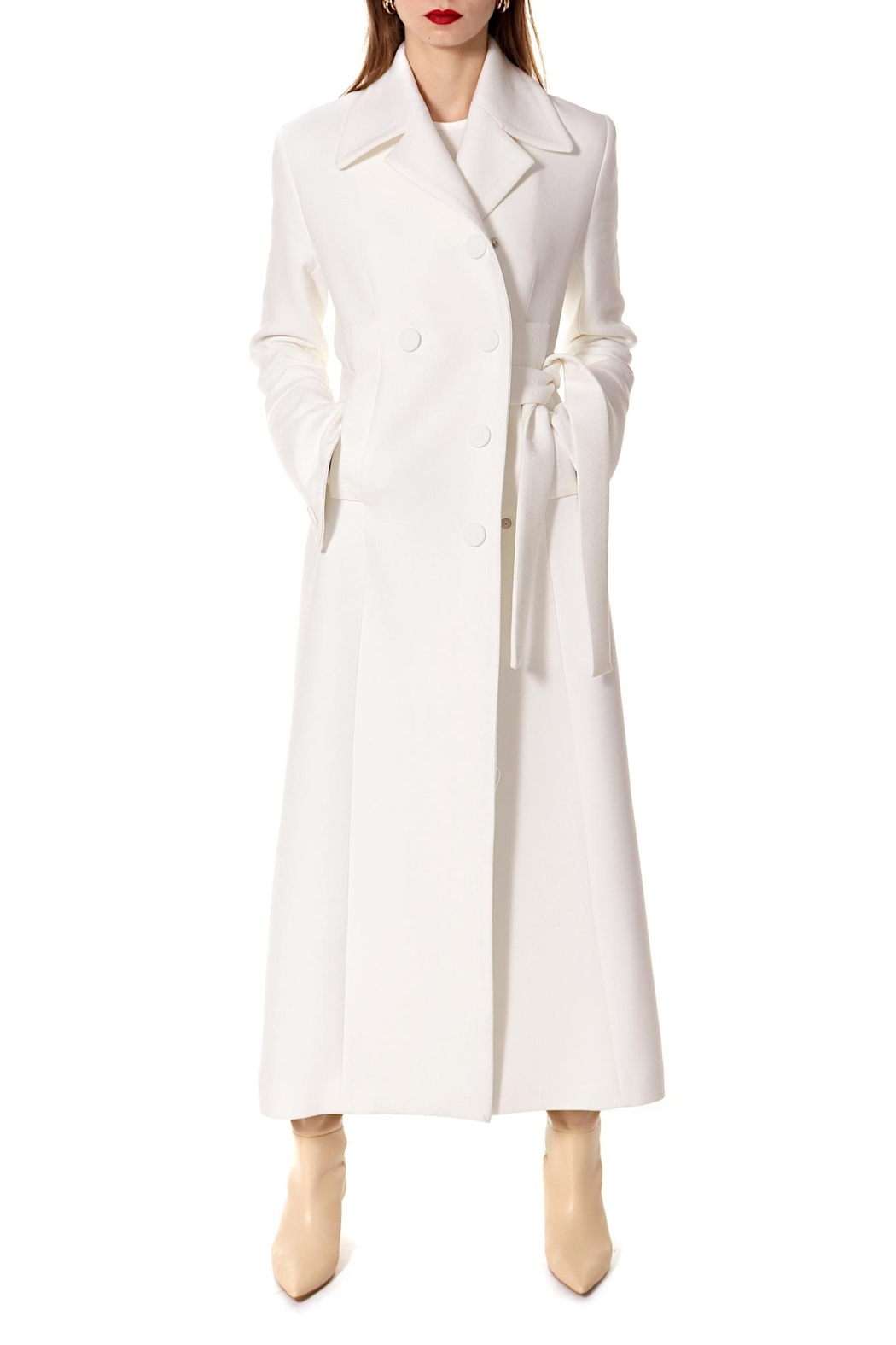 AGGI Coat Tilda Off-White - Main Image