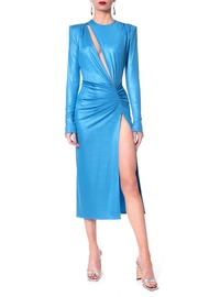 AGGI Dress Adriana Blue Aster - Product Mini Image