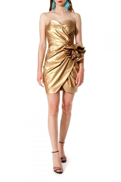 AGGI Dress Alessandra Vegas Gold - Product List Image