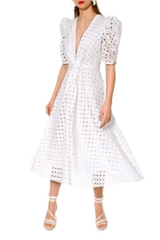 AGGI Dress Alta Blanc De Blanc - Product Mini Image