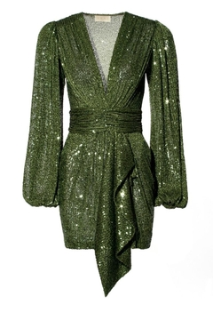 AGGI Dress Anastasia Vineyard Green - Alternate List Image