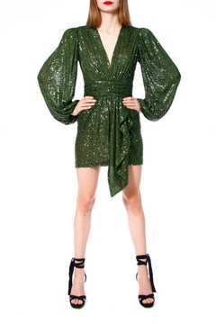 AGGI Dress Anastasia Vineyard Green - Product List Image