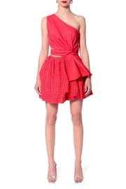 AGGI Dress Ariana Spring Tulips - Side cropped