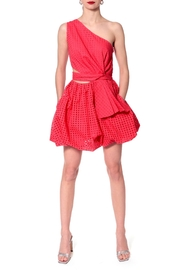 AGGI Dress Ariana Spring Tulips - Back cropped