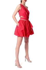AGGI Dress Ariana Spring Tulips - Front cropped