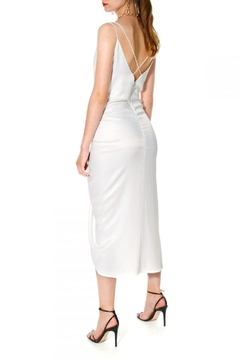 AGGI Dress Ava Bright White - Alternate List Image