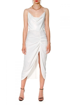 AGGI Dress Ava Bright White - Product List Image