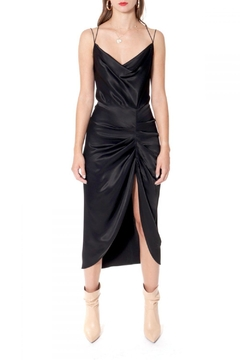 Shoptiques Product: Dress Ava Glossy Black