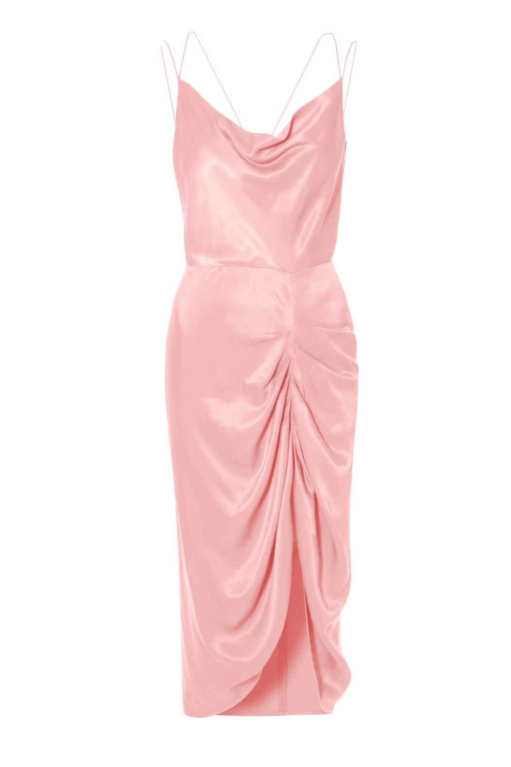 AGGI Dress Ava Pretty In Pink - Front Full Image