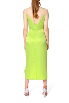 AGGI Dress Ava Wild Lime - Alternate List Image