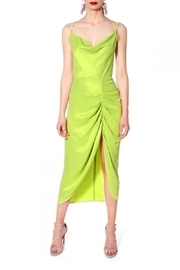 AGGI Dress Ava Wild Lime - Product Mini Image