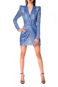 AGGI Dress Jennifer Illusion Blue - Product List Image